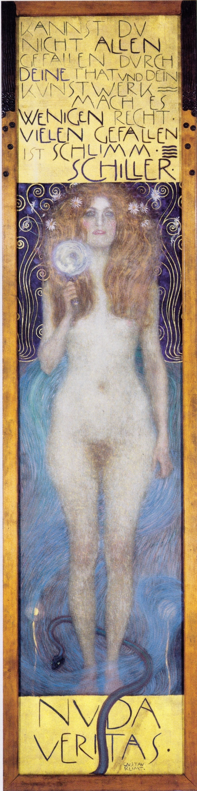 Klimt_-_Nuda_Veritas_-_1899