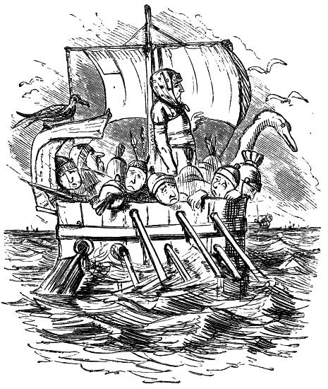 mennsker i båt holk