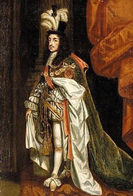Karl II av England. Det var kanskje denne hatten man måtte spise