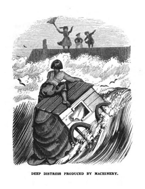 com an 1838 hood deep distress produced by machinery