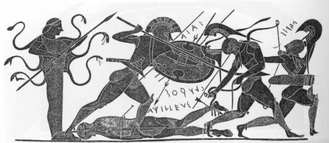 Death_of_Achilles_Chalchidian_amphora 540 BCE