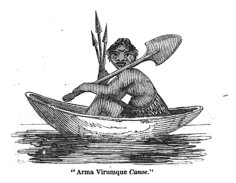 com an 1830 arma virumque canoe