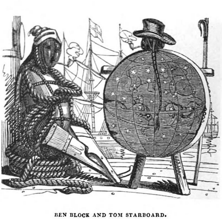 w.h. brooke The humorist Harrison 1832 ben block and tom starboard.PNG