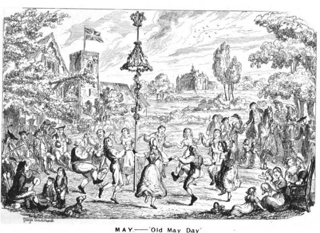 Cruikshank The Comic Almanck for 1836 mai