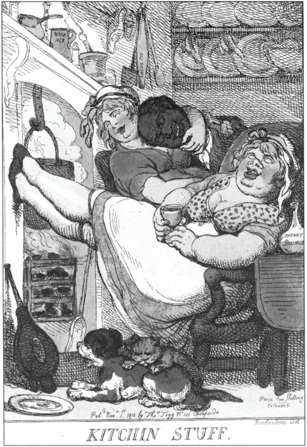 kitchin stuff rowlandson 1810