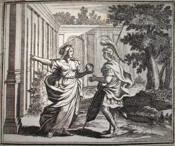 ariadnetheseus johhan ulrich krauss 1690