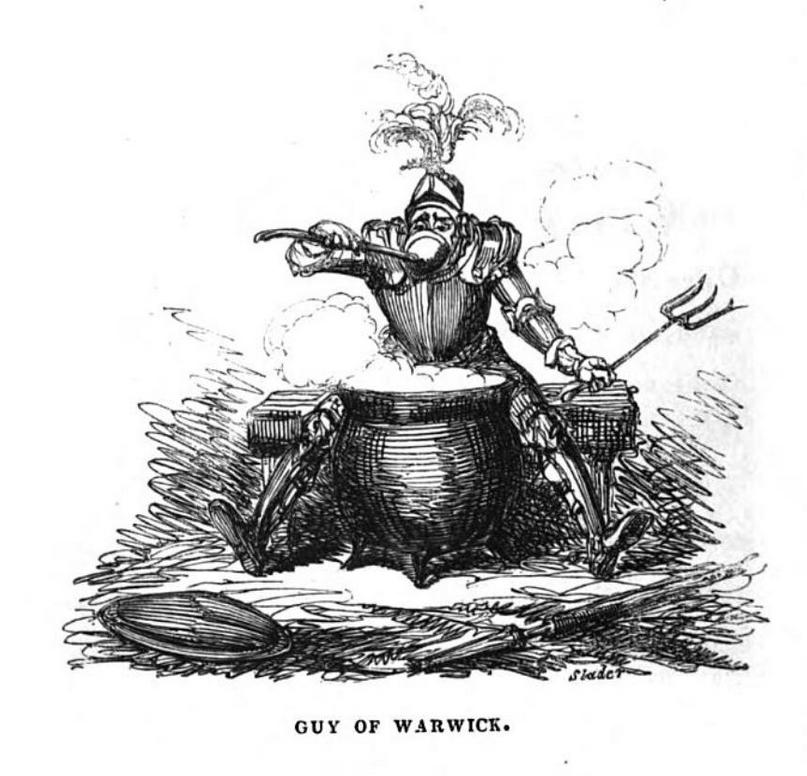 com an 1830 guy of warwick G. Cruikshank