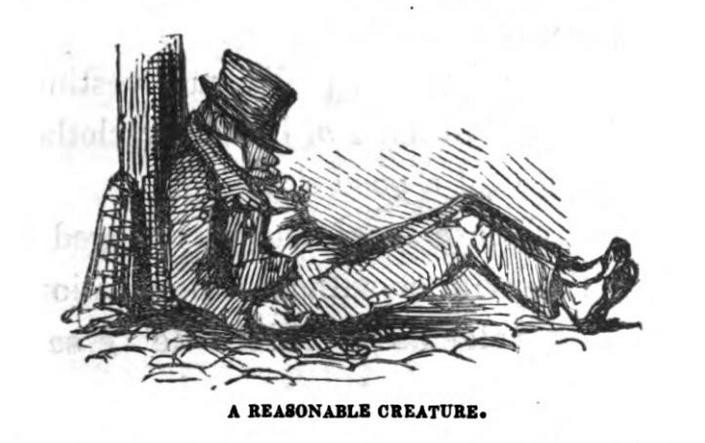 com lat gr a reasonable creature 1890 John Leech